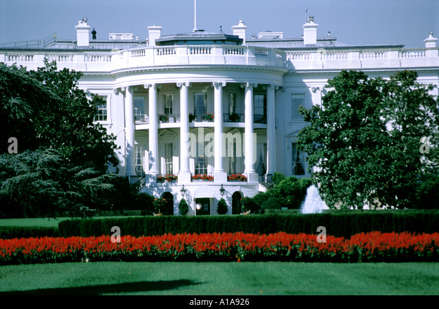 White House, Washington D.C. - Stock Image