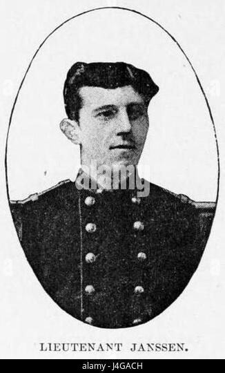 Stanley Founding of Congo Free State 268 Lieutenant Janssen - Stock-Bilder