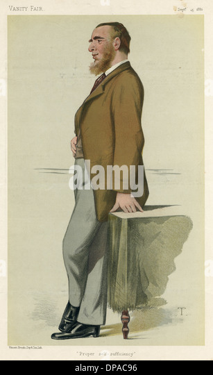 LEONARD HENRY COURTNEY - Stock Image