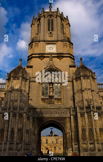 Christchurch College, Oxford University, Oxford, Oxfordshire, England, United Kingdom, Europe - Stock Image