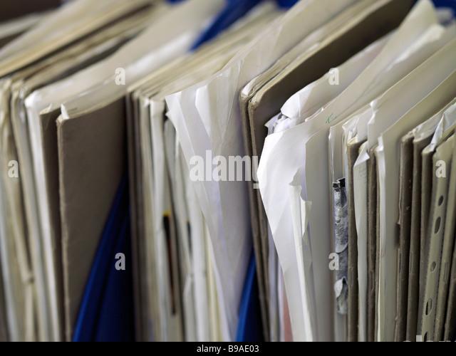 paperwork - Stock Image