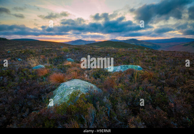 Wicklow Mountains - Stock Image