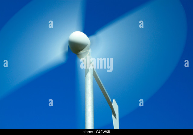 Domestic wind turbine - Stock Image