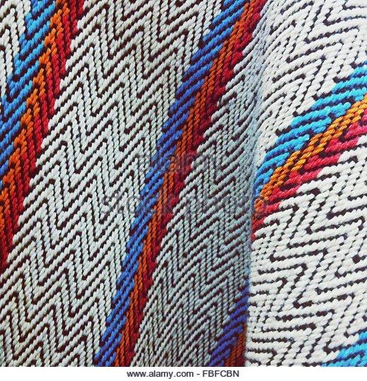 Close-Up Of Multi Colored Fabric - Stock-Bilder