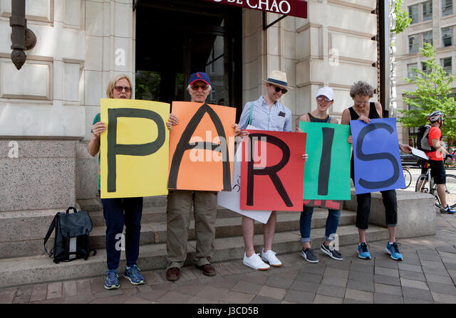 2017 People's Climate March - Washington, DC USA - Stock Image