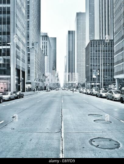 USA, New York State, New York City, Avenue of Americas - Stock Image