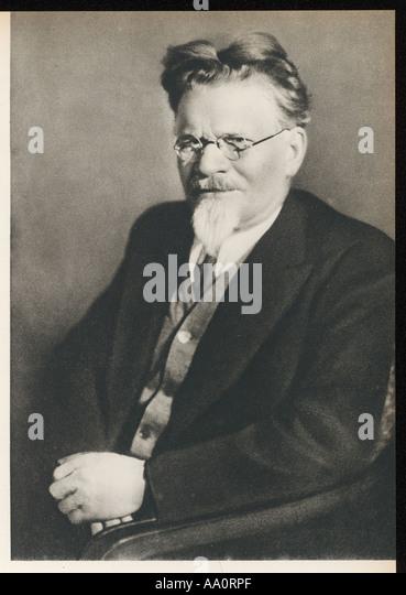 Mikhail Kalinin - Stock Image