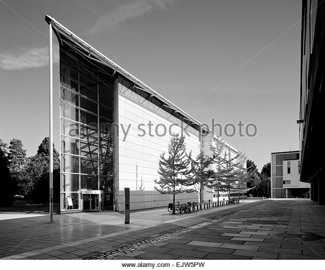 Faculty of Law on the Sidgwick Site of Cambridge University - Stock Image