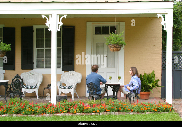 Mississippi Vicksburg Cedar Grove Mansion Inn and Restaurant - Stock Image