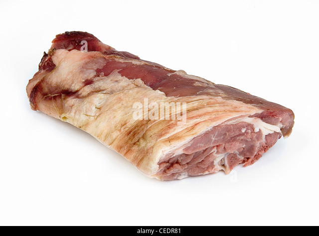 Mutton, neck - Stock Image