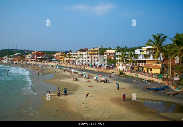 Kovalam beach, Kerala, India, Asia - Stock-Bilder