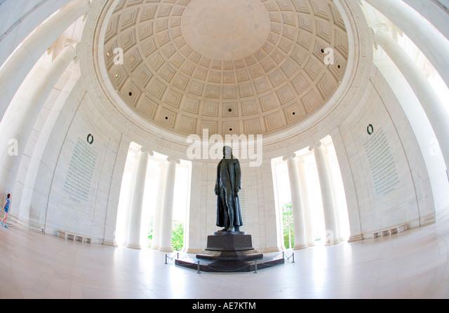 USA Washington DC Thomas Jefferson memorial - Stock Image