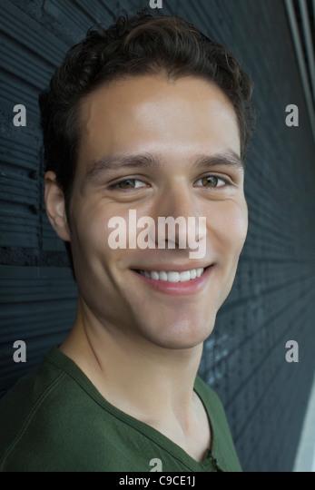 Man, portrait - Stock Image