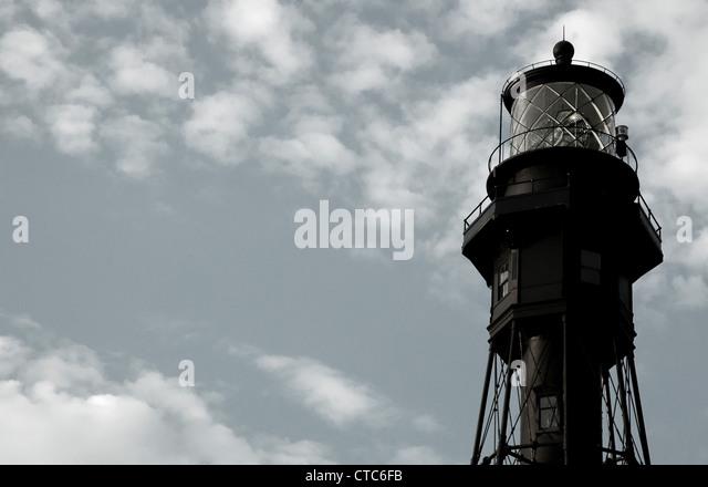 Hillsboro Lighthouse - Stock Image
