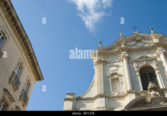 Lecce baroque stock photos lecce baroque stock images for Baroque italien