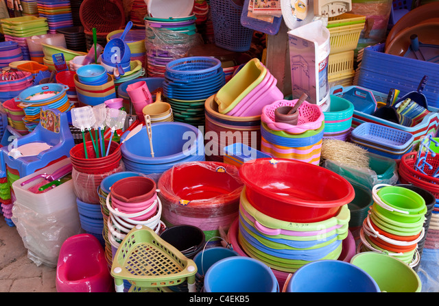 Plastic items for sale stock photos plastic items for for Agadir moroccan cuisine aventura fl