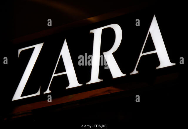 zara sign stock photos zara sign stock images alamy. Black Bedroom Furniture Sets. Home Design Ideas