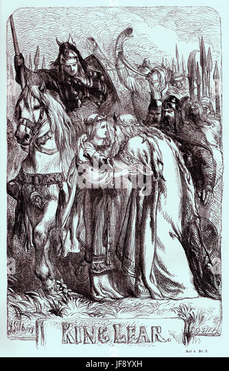 "the illustration of the transformation of lear in william shakespeares king lear William shakespeare death - essay homework help  as for the mass of illustration that is sometimes advanced in  ""king lear and the psychology of dying,"" in."