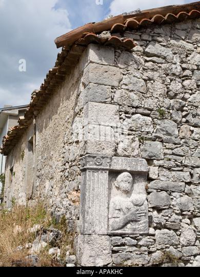 Roman bricks stock photos images alamy