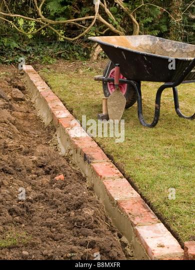 brick garden edging. brick edging garden n