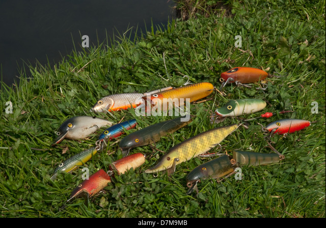Grass pike stock photos grass pike stock images alamy for Pike ice fishing lures