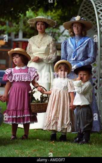 Victorian festival - Stock Image