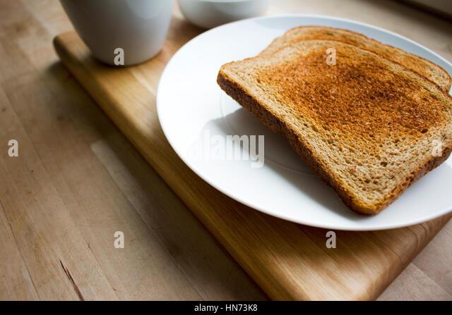 The Humble Toast - Stock Image