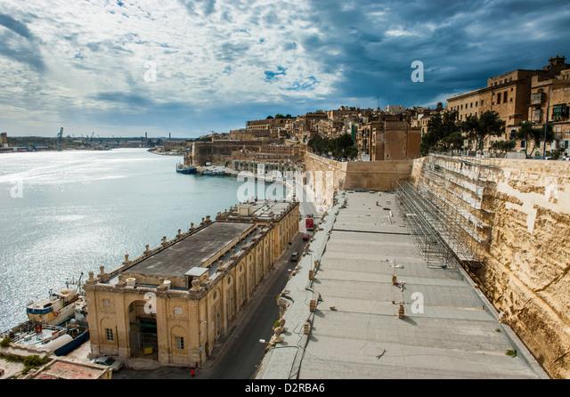 Valetta, UNESCO World Heritage Site, Malta, Mediterranean, Europe - Stock-Bilder