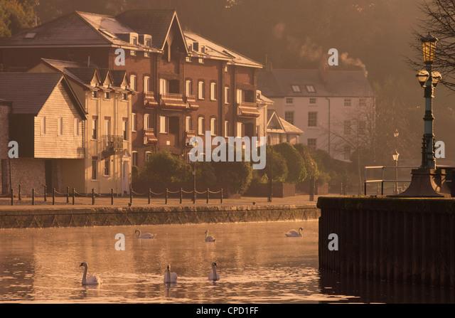 Exeter Quay, Exeter, Devon, England, United Kingdom, Europe - Stock Image