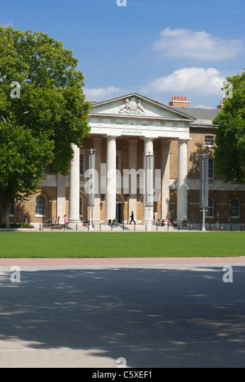 The Saatchi art gallery in the Old Duke of York's HQ, just off the Kings Road in Chelsea, London, England, UK. - Stock Image