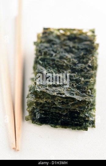 Korea seaweed, korea food - Stock Image