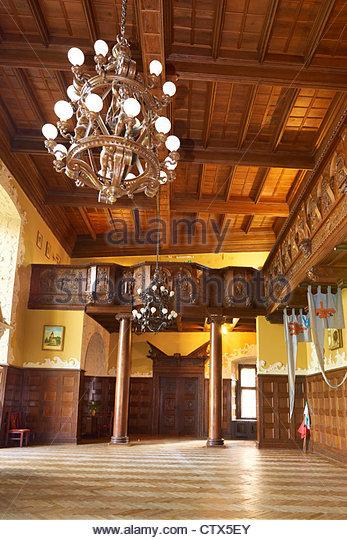 Hall Medieval Interior Stock Photos Amp Hall Medieval