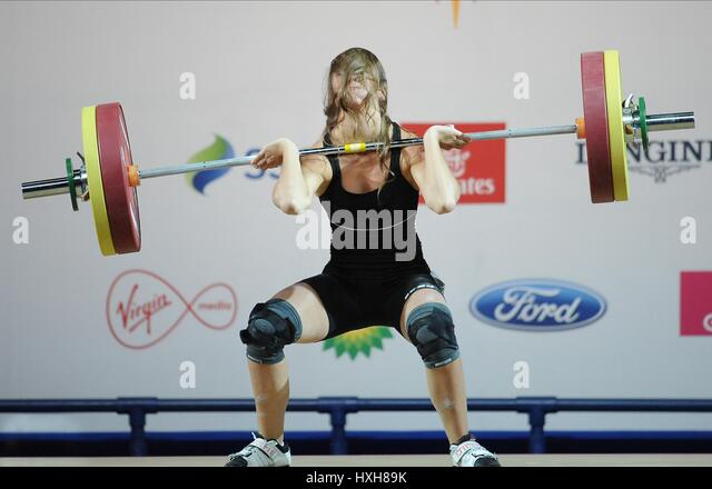 MARIE-JULIE MALBOEUF WOMEN'S WEIGHTLIFTING WOMEN'S WEIGHTLIFTING CLYDE AUDITORIUM GLASGOW SCOTLAND 26 July - Stock Image