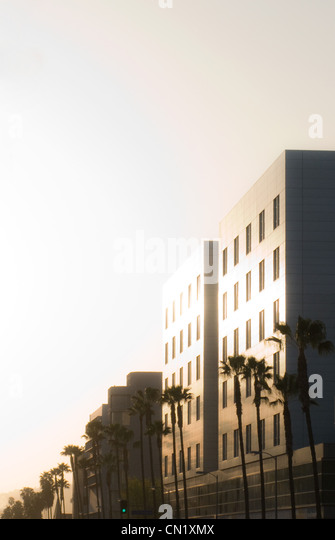 Building exteriors, Los Angeles, California, USA - Stock-Bilder