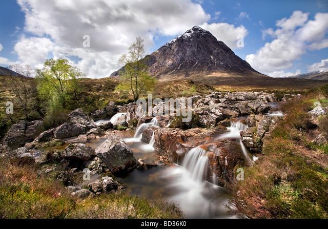 Buachaille Etive Mor, Highlands. - Stock Image