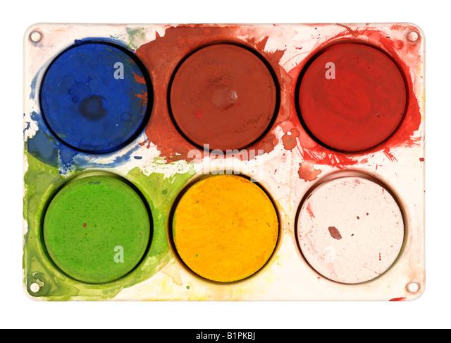 Artist palette - Stock-Bilder