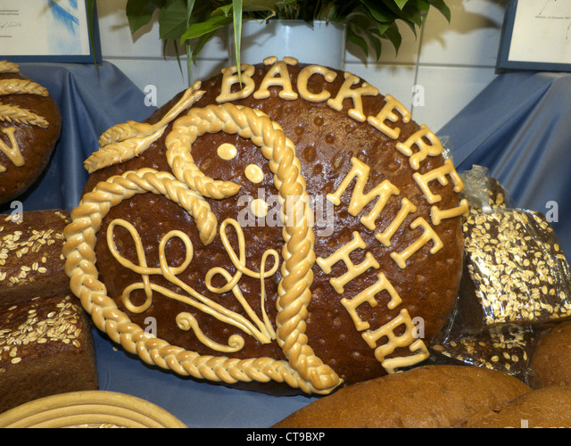 Germany Bavarian bread - Stock-Bilder