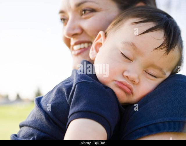 baby boy sleeping. - Stock-Bilder
