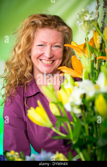 Charlie Dimmock Garden Stock Photos & Charlie Dimmock