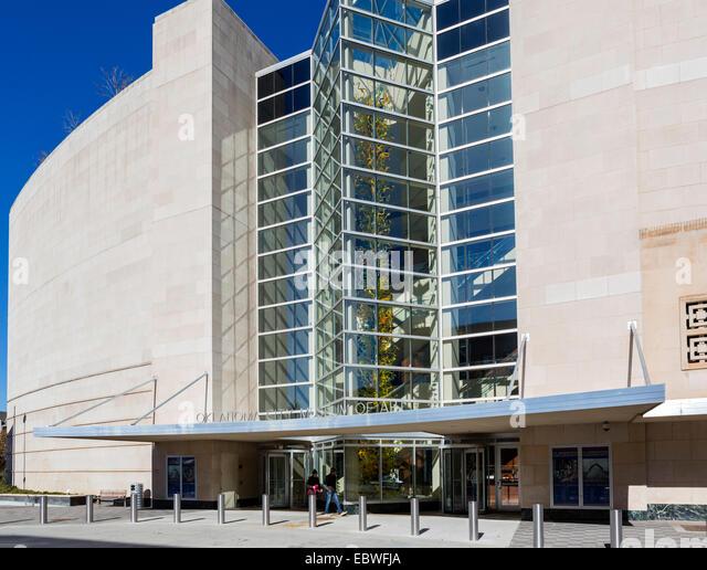 Oklahoma City Museum of Art, Couch Drive, Oklahoma City, OK, USA - Stock Image