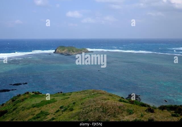Scenic View Sea Against Sky - Stock Image
