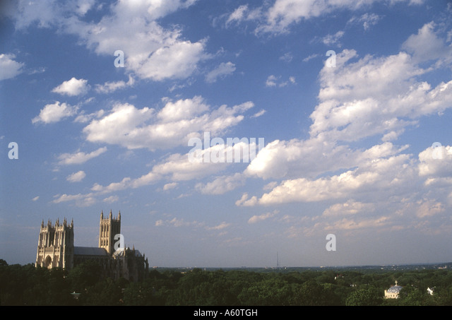 Washington National Cathedral, Washington, D.C. - Stock Image