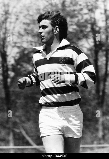 Prince Andrew playing rugby in Canada May 1977 - Stock Image