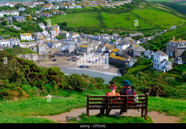 Port Isaac, Cornwall, England, United Kingdom, Europe - Stock Image