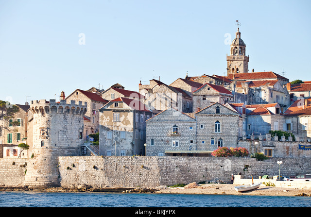 a history of the city of korcula a medieval city in croatia An overview of the best places to visit in croatia island located off croatia's adriatic coast korcula is comprised of gems include seven medieval city.