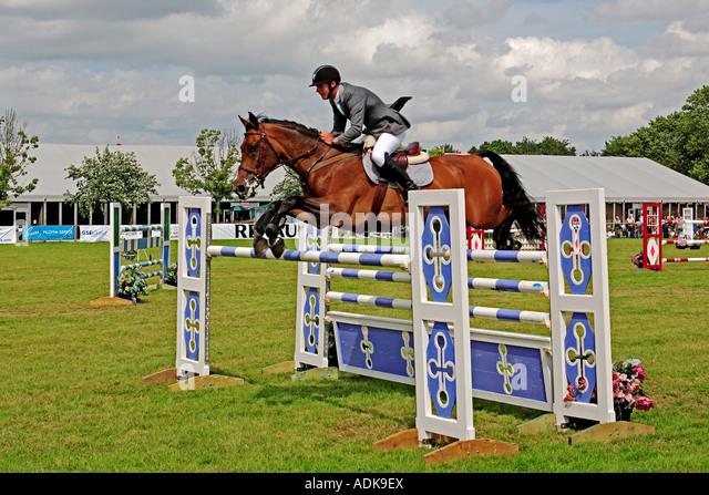 0004: Show jumping, Kent Show, Detling, Kent, England - Stock Image