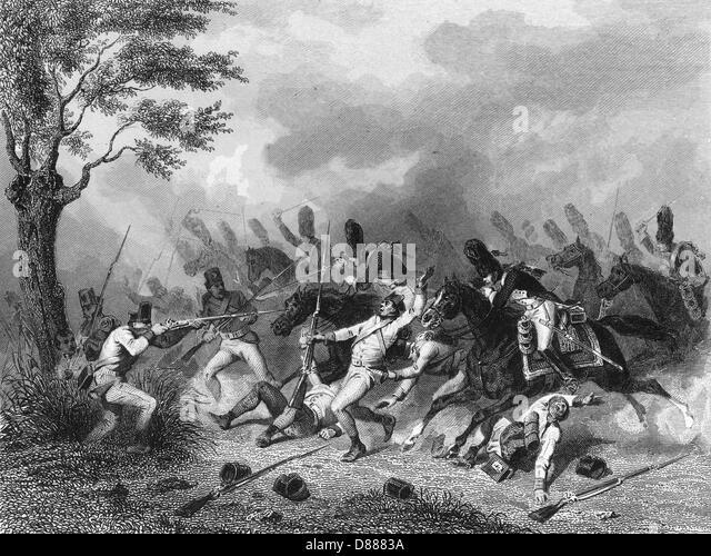 Cavalry Charge  Marengo - Stock Image