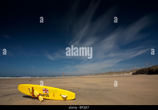 RNLI Lifeguard surf rescue vessel - Stock Image