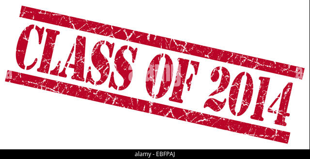 Class of 2014 backgrounds red