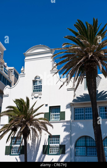 South Africa, Western Cape, Cape Town, seaside resort of Sea Point - Stock Image